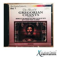 The Best of Gregorian Chants Vol. I Disc 1 CD Classical Songs Album (VG+) #F29