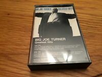 BIG JOE TURNER Greatest Hits Cassette Tape Atlantic Recording 80s