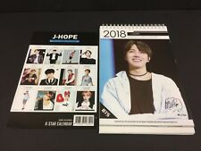 Kpop 2018 & 2019 K pop BTS J-HOPE High Quality Official Photo Desk Calendar