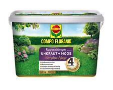 (5,98�'�/1kg) COMPO FLORANID Rasendünger gegen Unkraut+Moos 4in1 6 kg Eimer Unkrau