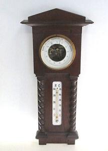 Thermometer Hydometer um 1880 Antik Holz