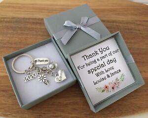 Personalised Wedding Keepsake Gifts Box Thank you Bridesmaid, Mother of Bride