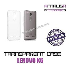 COVER TRASPARENTE PER LENOVO K6 CUSTODIA GEL TPU SLIM TRANSPARENT SILICONE CASE