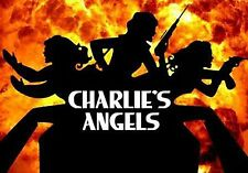 Charlie's Angels Iron On Transfer For T-Shirt & Other Light Color Fabric #1