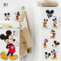 Cartoon Mickey Mouse/Minnie Mouse Wall Decals Sticker Home Kids Room Decor UK