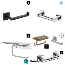 Haumax Stainless Steel Design Toilet Roll Holder Wc Wall Paper