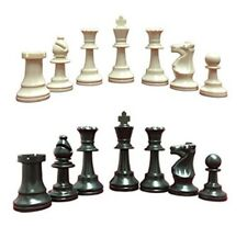 Triple Weighted Tournament Chess Pieces Heavy Extra Large Set