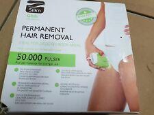 Silk'n Épilateur pour peaux claires et foncées, 50 000 pulsations lumineuses