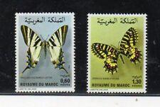 Marruecos Fauina Mariposas Serie del año 1981 (DL-419)