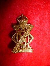 The 13th / 18th Royal Hussars Brass Collar Badge, WW2, Firmin Maker