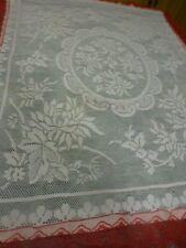 99cmh x0,80 nappe ou futur rideau vintage filet coton
