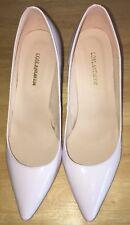 Loslandifen Women's Size 11  Europe 42 White High Heels Pumps Shoes