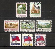 TAIWAN FORMOSA  1977-1980, minicollezione 8v usati (pha169)