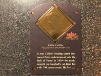 Eddie Collins A's 2002 Fleer Fall Classic Hall of Plaques Insert #d 630/1939
