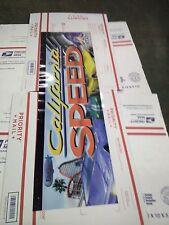 california speed arcade marquee #2