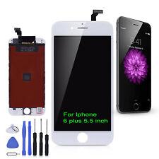 """Weiß iPhone 6 PLUS 4,7"""" LCD Display Glas screen Bildschirm Werkzeug Retina"""