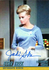 Star Trek The Original Series Judi Sherven Auto Card