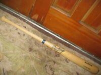 Rawlings Adirondack Big Stick Personal Model Baseball Bat Unsigned Bat
