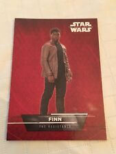 Topps 2015 Star Wars The Force Awakens Series #1 FINN #2 Sticker Card