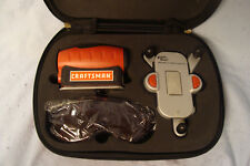 CRAFTSMAN  4 IN 1 LEVEL w/LASER TRAC  #48251 PRECISION LEVELING BASE & CASE