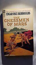 The Chessmen: Edgar Rice Burroughs, Ace Book, 1962 Fantasy. E-88