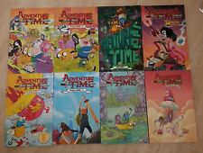 Adventure Time Graphic Novel Lot Bundle Volumes 1-5, 7, Marceline, Fionna + Cake