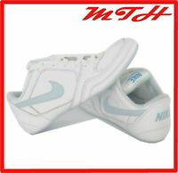 NIKE Wrestling Racing Trainers Womens 5.5 UK Greco Supreme White Blue Shoes VGC