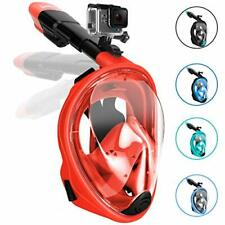 Gpeng Sunhoo Full Face Snorkel Mask, Foldable Snorkeling Mask with Detachable