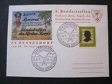 Bund MiNr. 234  auf Postkarte Bundestreffen des Afrika-Korps 1956  (P 601)