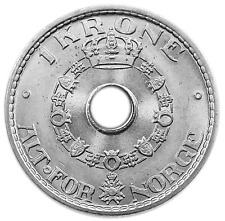 Norway 1 Krone 1950 Unc/Bu Km-385