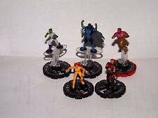 DC HEROCLIX LOT OF 5 LE FIGURES TODD RICE ROY HARPER CHEETAH BEAST BOY