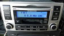 Hyundai MP3 sistema de sonido radio CD, reproductor de cinta de cassette/receptor