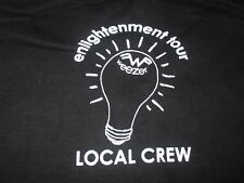 "Weezer ""Enlightenment"" Local Crew Concert Tour (Xl) T-Shirt"