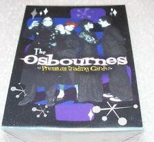 THE OSBOURNES  Complete base set   72 cards       OZZY, KELLY, SHARON +++