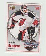 Upper Deck Rookie Martin Brodeur Hockey Trading Cards For Sale Ebay