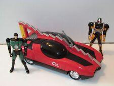 KAMEN RIDER MAGNO TALKING CAR COMPLETE + FIGURES 1996 BANDAI MMPR RARE
