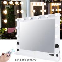 Led Mirror Illuminated Lighted Bathroom Wall Vanity Large
