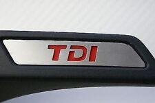 VW Golf 5 V Golf 6 VI MK5 MK6 TDI seat inserts alloy trim cover GTD GTI TSI GT
