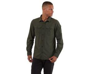 Craghoppers Mens NosiLife Adventure II Long Sleeved Shirt BNIP
