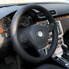 Black Leather Car Auto Steering Wheel Cover Protector for Honda Civic Jeep BMW