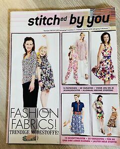 Striches By YoU Zeitschrift mit Schnittmustern Schnittmuster Nähen Sewing Kleid