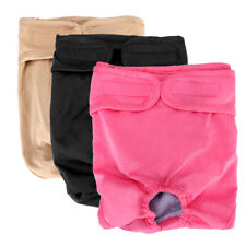 3pcs Dog Diapers Nappy Reusable Washable Puppy Pants Female Large XL 19-26inch