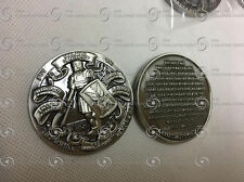 """2"""" Nickel - Whole Armor of God! Challenge Coin!"""