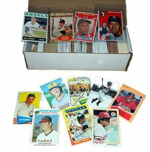 MLB Vintage Baseball Card Starter Set w/ 500 Cards Incl. 1950s-60s-70s-80s