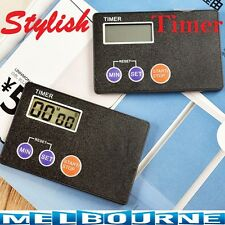 Stylish Countdown Timer Pocket Kitchen Study Rest Cool Cooking Fancy Fashion Car