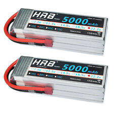 2pcs HRB 6S 5000mAh 22.2v RC Lipo Battery AKKU 50C-100C Airplane DJI Drone FPV