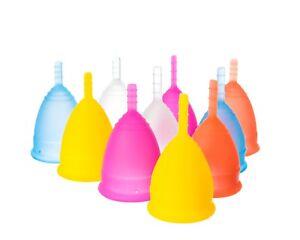 Lunette Menstrual Cup Silicone Model 1, Model 2 & Choose Colour & Size Authentic