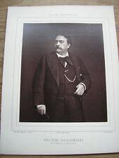 Hector GIACOMELLI cliché photoglyptie de MULNIER Galerie Contemporaine 1880