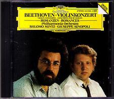 Shlomo Mintz & Sinopoli: Beethoven Violin Concerto DG CD Brahms roamnce