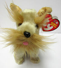 Ty Beanie Baby Schnitzel the Schnauzer PRISTINE New w/Mint Tags 10th Anniversary